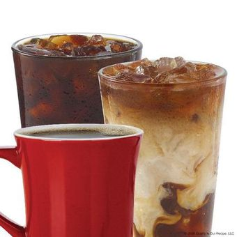Wendy's coffee drinks: hot coffee, cold-brew and Frosty®-ccino