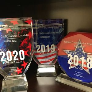 Pearland Cardiovascular Associates has won Best of Pearland 3 years in a row.