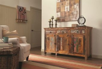 Reclaimed accent furniture