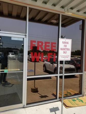 We offer FREE wifi while you wait!