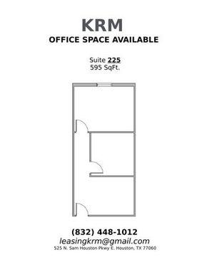 Suite 225- 595 SqFt.