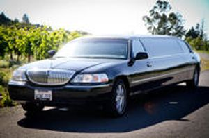 You can have your choice of a luxury limo bus, Lincoln Town Car, Sedan, or stretch limo.