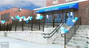 A. Hoffman Awning in Baltimore     410-685-5687     Awning for this Baltimore building was perfect for their grand opening