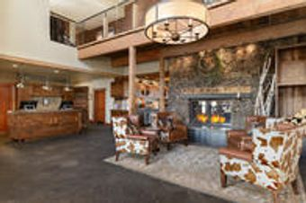 Ranch House Lobby/Front Desk