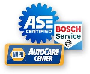 All of our work is backed by a 3 year or 36,000 mile warranty. Please give us a call if you have any questions.