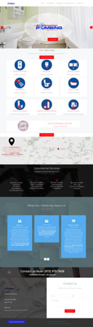 Web Design for a Plumbing Company in Hackettstown, NJ, by Lattice Marketing