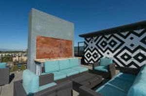 Outdoor Roof Top Space at Dahlia