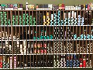 Over 300 e-liquids to choose from!