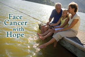 Face cancer with hope.