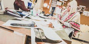 Fashion Design instructor Brittany Allen
