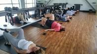 One of our BarreAmped Express fitness classes