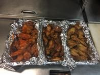 Order wings for your house party