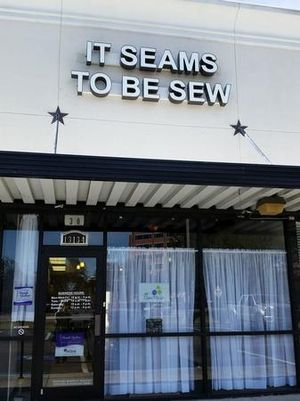 It Seams To Be Sew quilt shop