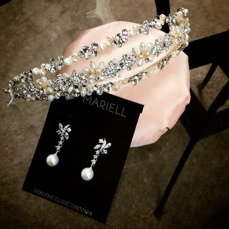 Select bridal jewelry and headpieces to match or custom design your very own bridal accessories.