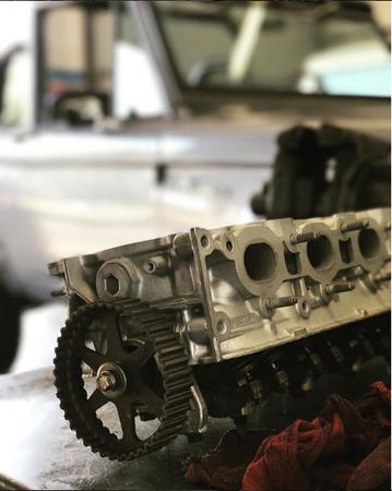 Auto parts at Saddleback Automotive Service Center.