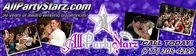 All Party Entertainment by All Party Starz.,. for over 30 years!