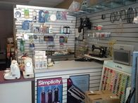 We repair sewing machines and vacuum cleaners.