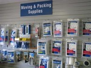 Packing and Moving Supplies Sold on Site.