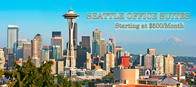 Seattle Office Suites starting at $500/MO.