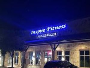 Our gym's storefront