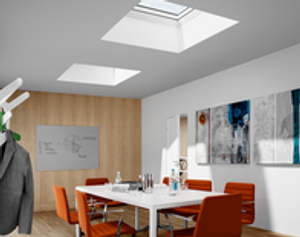 VELUX Commercial fixed skylights by Skylights Now.
