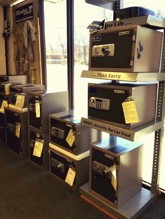 Check out our fire and burglary rated safes!