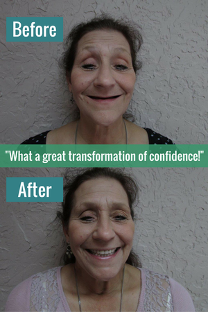What a great transformation of confidence!