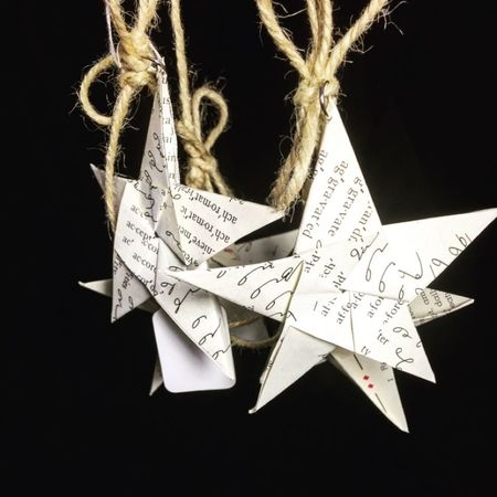 Paper Stars Garland's for sale! Only $6. Stop in and get your today!
