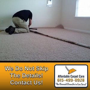 Our attention to detail will leave you with beautiful carpets! Contact us!