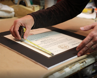 Would you like to have your degree framed? We can help!