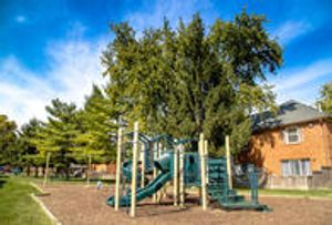 Outdoor Playground at Barrington Estates Apartments in Indianapolis, IN