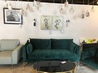 In addition to our large selection of designer furniture, we offer a variety of modern lighting to choose from!