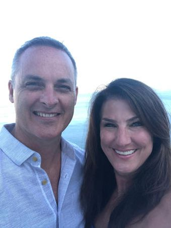 Dr. Kimberly Kraus with husband