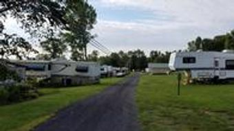 Recreational Vehicle campground seasonal rental in south hero vermont