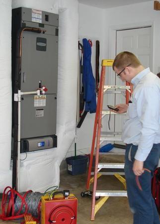Sealing Test for HVAC Effieciency