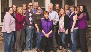 Our great team of caregivers.