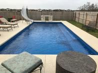 Contact our pool experts today for an estimate on in-ground fiberglass pools!