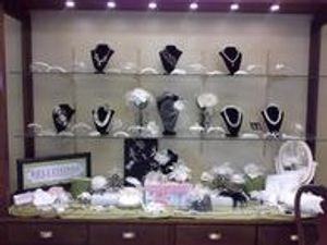 We offer a variety of bridal accessories to choose from.