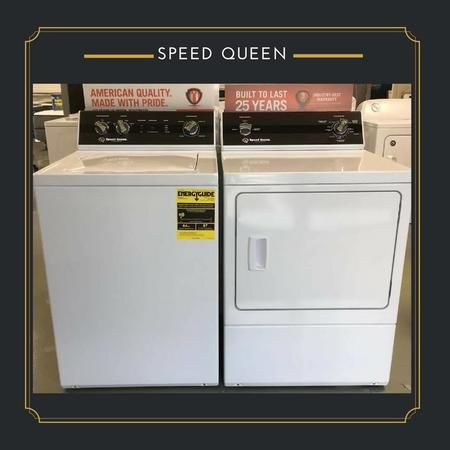 Need a new washer/dryer set? Come see us!