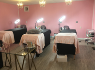 Relax and rejuvenate in our beauty salon