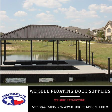 Floating Dock Supplies Austin, Texas. Contact Dock Floats Ltd in Austin for your FREE phone consultation: 512-266-6035