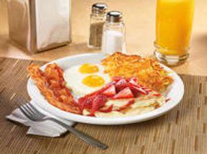 NEW! Berry Vanilla Crepe Breakfast