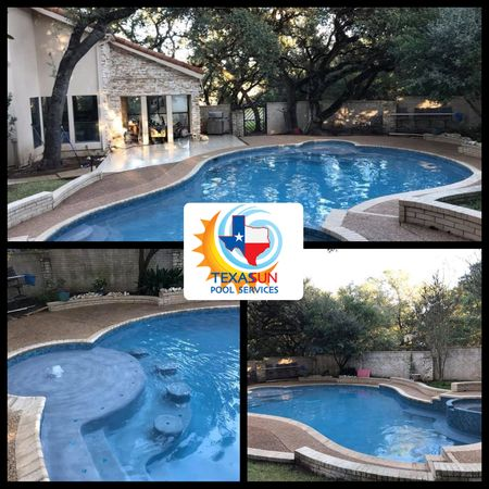 We're here for your pool service, remodeling, and repair needs! Contact us today!