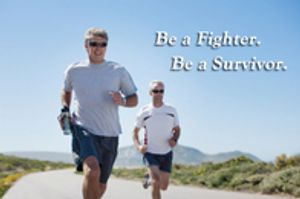 Be a fighter. Be a survivor.