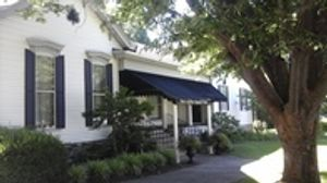 front of funeral home