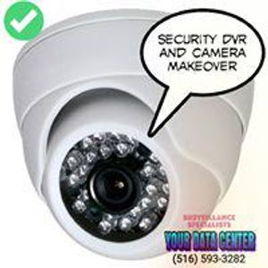 Every home and business needs quality security cameras.  Your Data Center sells, installs, maintains and upgrades camera systems and surveillance systems of all makes and models.  We sell only the highest quality systems and stand behind them.  When it comes to surveillance we are Long Island's leader.  Visit us on the web at http://www.516camsnow.com or call us at (516) CAMS-NOW..