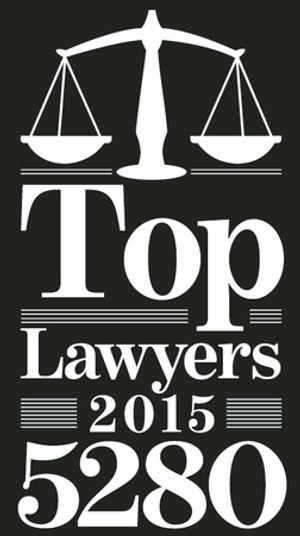 We are proud to be included in 5280's Top 50 metro-Denver Attorneys of 2015.