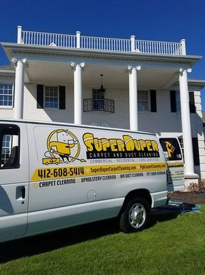 Carpet Cleaning in Pittsburgh at another satisfied customers home.