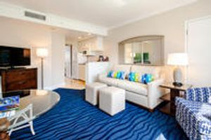 Suite Living Room at RumFish Beach Resort by TradeWinds