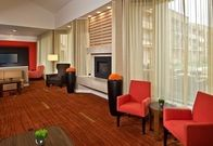 After a long day of work, unwind in our inviting lobby space. Our hotel offers a variety of areas for reading, working, relaxing and dining. You'll find an array of seating and furniture configurations. You can find a quiet corner to meet with friends over a glass of wine, or plug-in and work with free wireless high-speed Internet access.